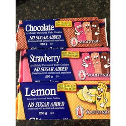 Voortman No Added Sugar Strawberry Wafer