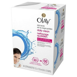Olay Daily Facial Daily  lean 4 - 1 water activated Cloths