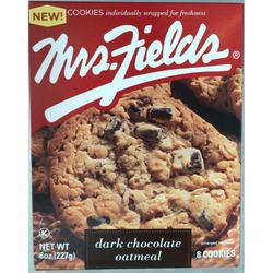 Mrs. Fields Dark Chocolate Oatmeal Cookies