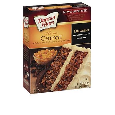 Duncan Hines Decadent Carrot Cake Reviews