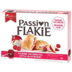 Vachon Passion Flakie Apple Raspberry Flaky Pastries