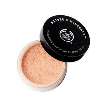 The Body Shop Nature's Minerals Foundation
