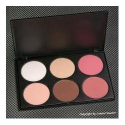 Coastal Scents Blush & Contour Palette