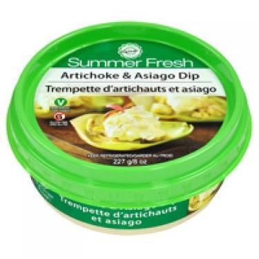 Summer Fresh Asiago Artichoke Dip