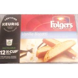 Folgers Vanilla Biscotti K-Cups