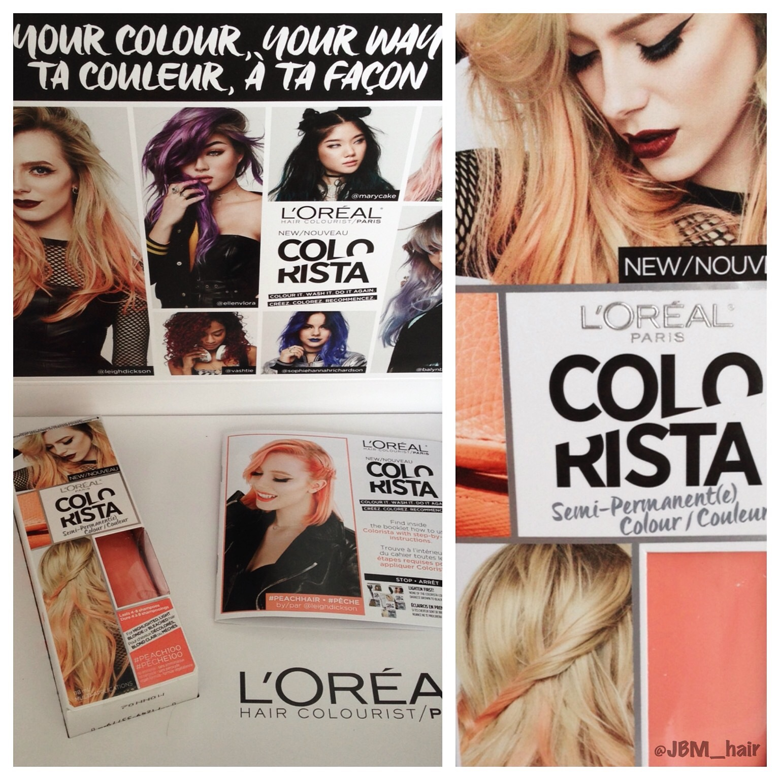 LOreal Paris Colorista SemiPermanent Hair Colour reviews in Hair