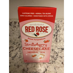 Red Rose Sweet Temptations Strawberry Cheesecake