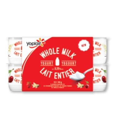 Yoplait Whole Milk Yogurt