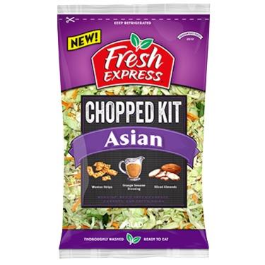 Fresh express Asian chopped kit