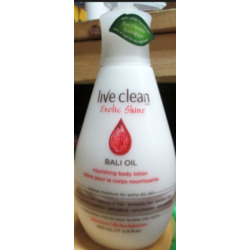 Live Clean Exotic Shine Bali Oil Lotion