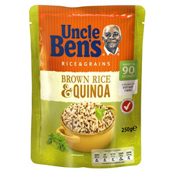 Uncle Bens brown rice and quinoa