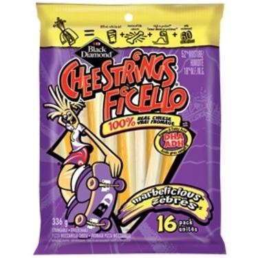 Black Diamond Ficello Marbelicious Cheese strings