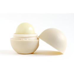 eos Organic Smooth Spheres Lip Balm in Vanilla Bean