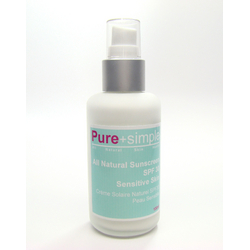 Pure+simple All Natural SPF 30 Sensitive Skin