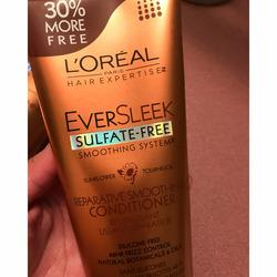 L'Oreal Paris EverSleek Sulfate-Free Reparative Smoothing Shampoo
