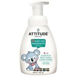 Attitude 3 in 1 baby wash