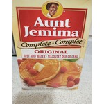 Aunt Jemima Complete Original Just Add Water Pancake And Waffle Mix