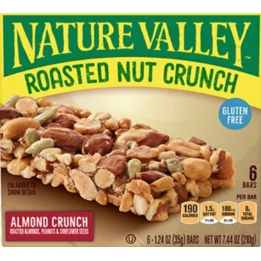 Nature  Valley  Roasted Nut Crunch Bars