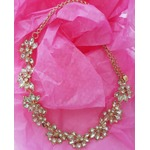 Champagne Crystal Collar- Yourbijouxbox