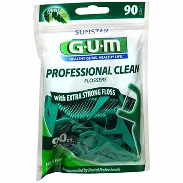 Sunstar GUM Professional Clean Flossers