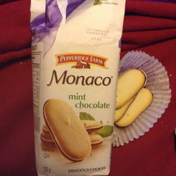 Monaco mint chocolate cookies