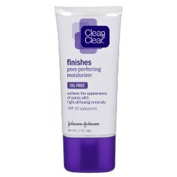 Clean & Clear Finishes Pore Perfecting Moisturizer with SPF15