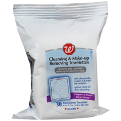 Walgreens Cleansing & Make-up Removing Towelettes