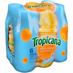 Tropicana orange juice 6×236 ml