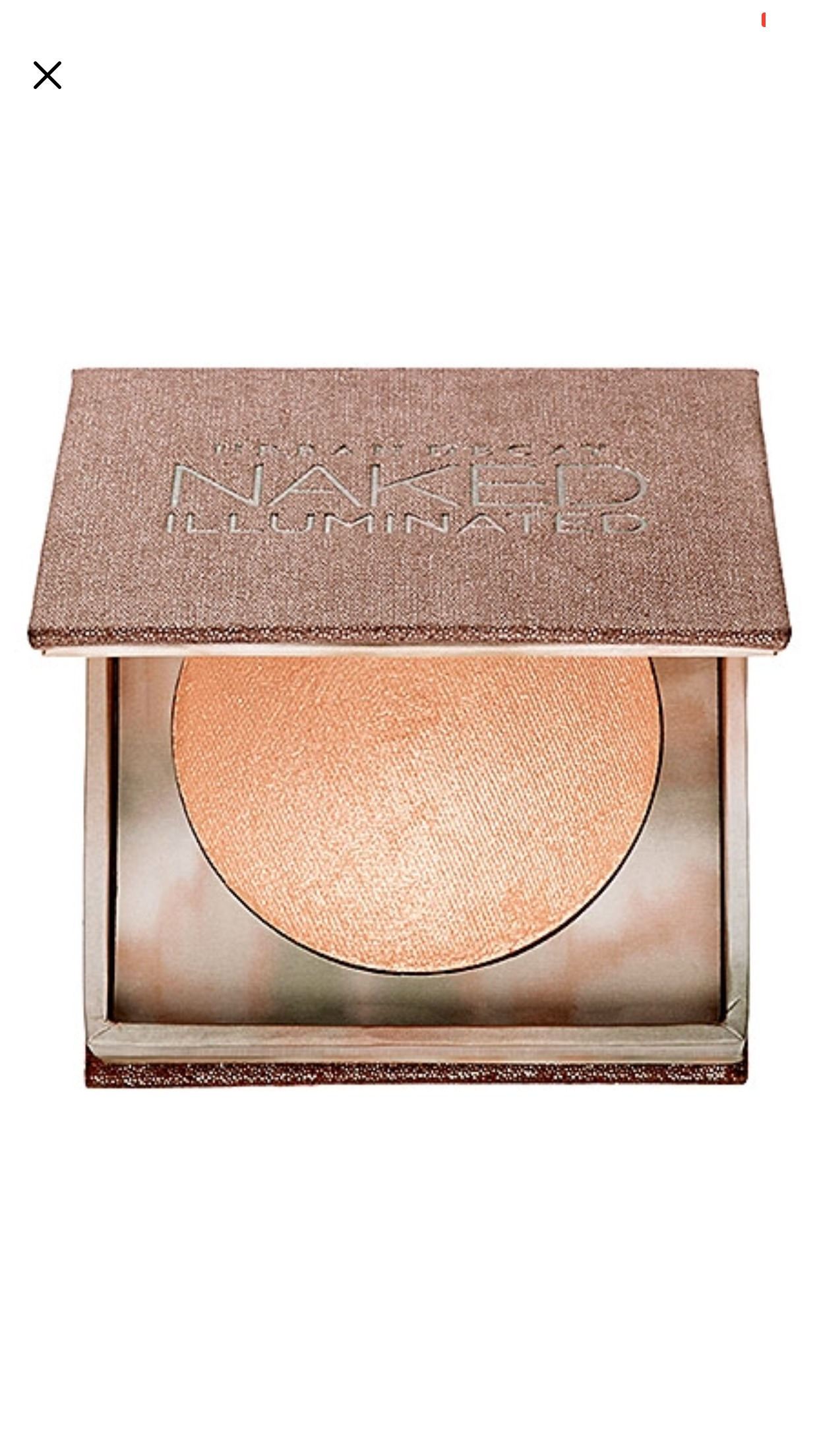 Urban Decay Naked Illuminated Shimmering Powder in Lit