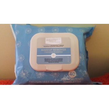 Equate Makeup Remover Cleansing Towelettes reviews in Face