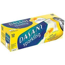 Dasani Sparkling Water Lemon