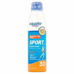 Equate Sport Sunscreen Continuous Spray SPF 30
