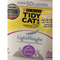 Tidy Cats clumping, scented litter