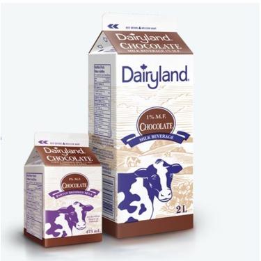 Dairyland Chocolate Milk