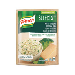Knorr Selects White Cheddar & Broccoli Rice