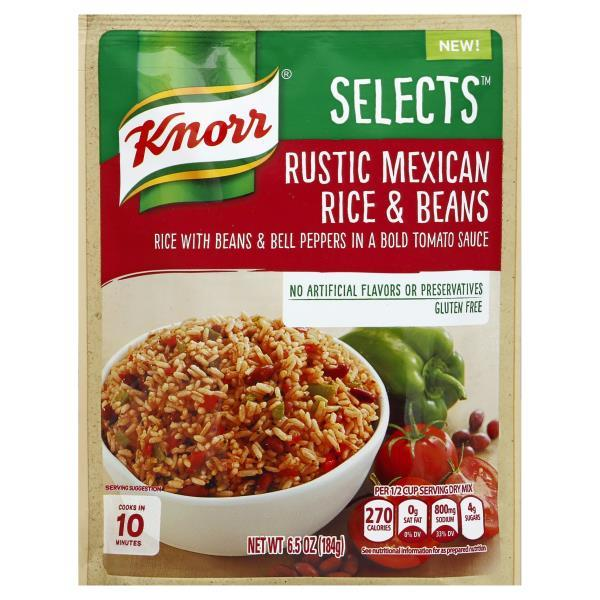 Knorr Selects Rustic Mexican Rice Amp Beans Reviews In