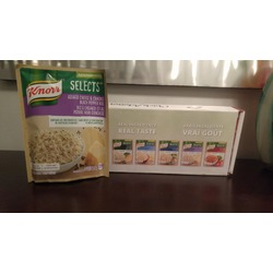 Knorr Selects Asiago Cheese and Black Pepper Rice
