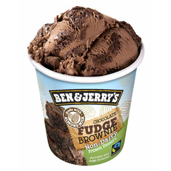Ben & Jerry's Non-Dairy: Chocolate Fudge Brownie