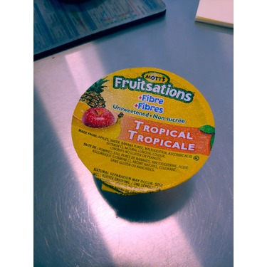 Mott's Fruitsations +Fibre Unsweetened Tropical