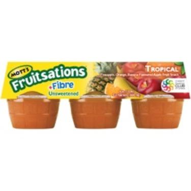 Mott's Fruitsations +Fibre Unsweetened Tropical