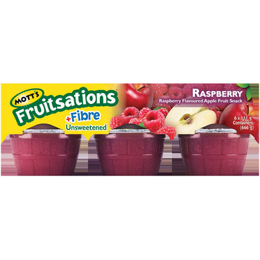 Mott's Fruitsations +Fibre Raspberry