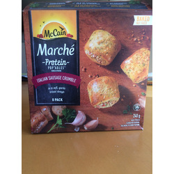 McCain Marche Protein Pop'ables Italian Sausage