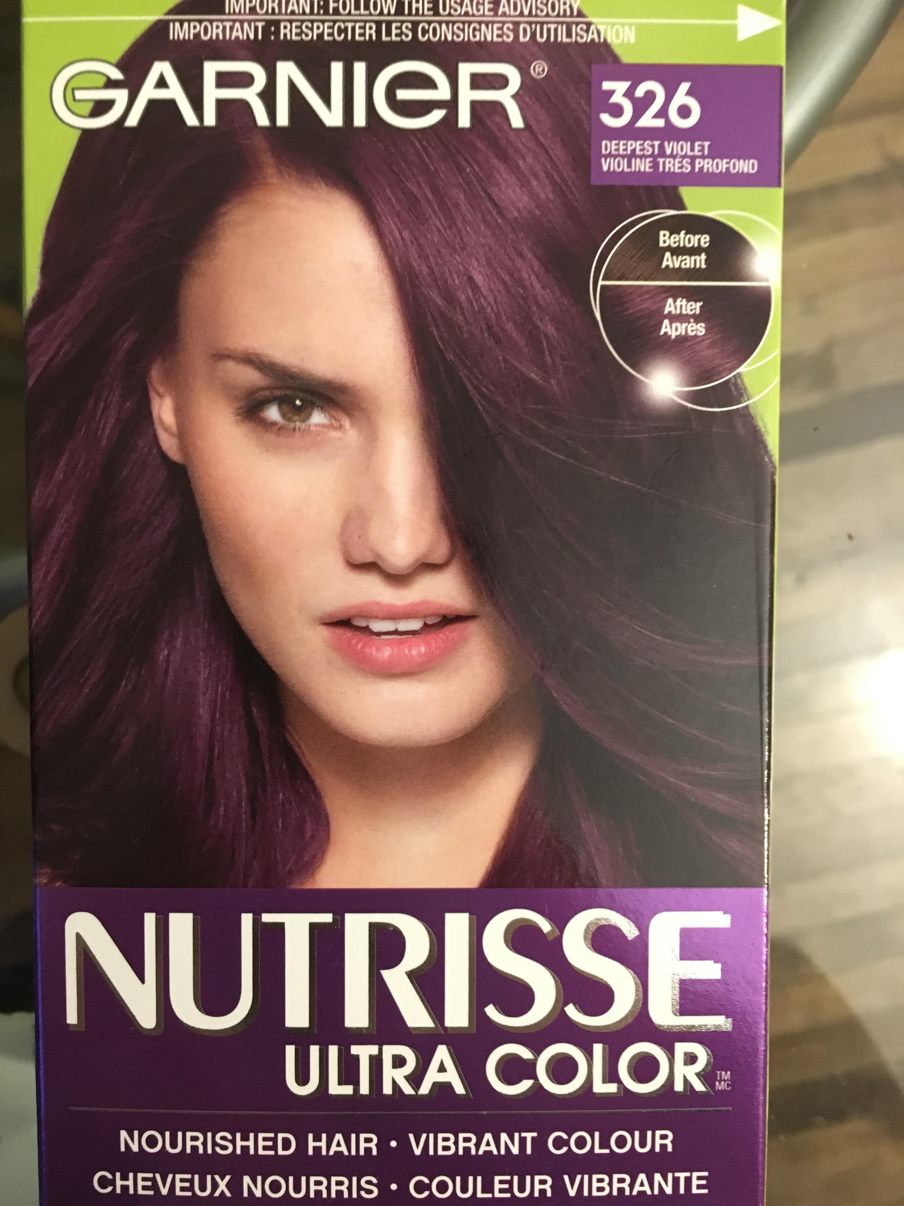 Garnier Nutrisse Ultra Color Reviews In Hair Colour Chickadvisor