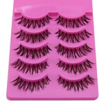 Sanwood 5 Pairs Natural False Lashes
