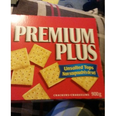 Christie Premium Plus Unsalted Crackers
