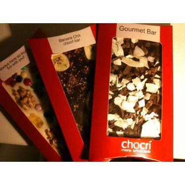 Chocri Customized Chocolate Bars
