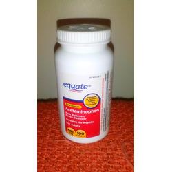 Equate acetaminophen Pain Reliever