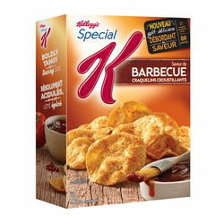Kellogg's Special K Barbecue Flavour Cracker Chips