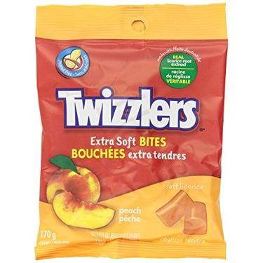 Twizzlers Extra Soft Bites - Peach