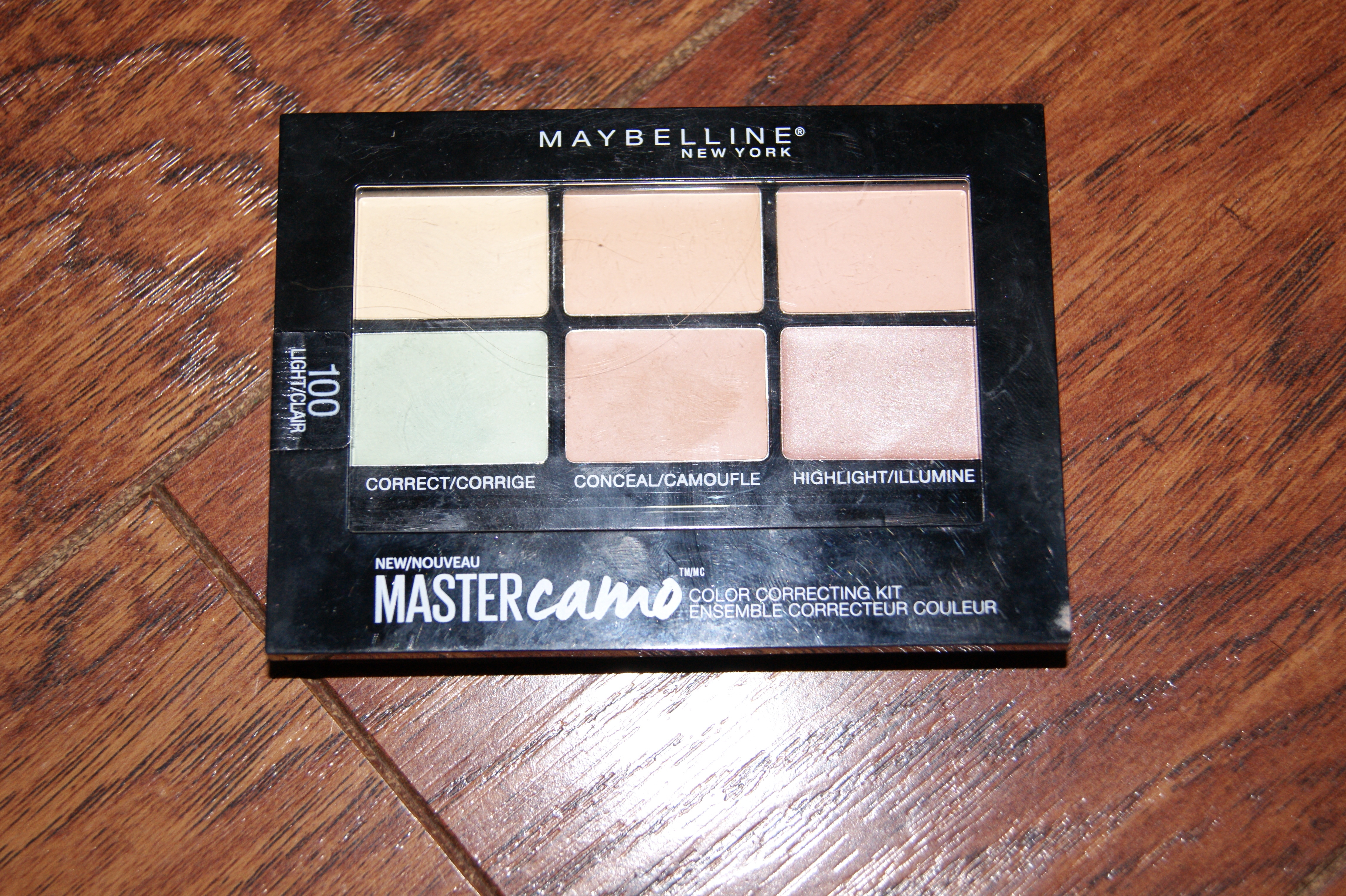 Facestudio Master Camo Color Correcting Kit - Light by Maybelline #12